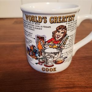 Other - Papel World's Greatest Cook Mug